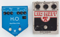 Musical Instruments:Amplifiers, PA, & Effects, Pedal Lot Electro-Harmonix and H2O + Cables... (Total: 2 )