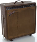 Musical Instruments:Amplifiers, PA, & Effects, 1961 Fender Concert Brown Guitar Amplifier, Serial Number#04877....