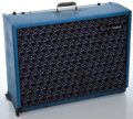 Musical Instruments:Amplifiers, PA, & Effects, 1960's Epiphone Professional Blue Guitar Amplifier, Serial Number #570038....