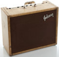Musical Instruments:Amplifiers, PA, & Effects, Circa 1960 Gibson Falcon Tweed Guitar Amplifier, Serial Number#130813....