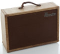 Musical Instruments:Amplifiers, PA, & Effects, 1950's Gibson Maestro: Reverb-Echo Tweed Guitar Amplifier, Serial Number #108180B....