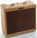 Musical Instruments:Amplifiers, PA, & Effects, 1950's Fender Princeton Tweed Guitar Amplifier, Serial Number #P01077....