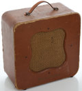 Musical Instruments:Amplifiers, PA, & Effects, 1950's Danelectro Brown Guitar Amplifier, Serial Number #None....