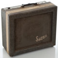 Musical Instruments:Amplifiers, PA, & Effects, 1960's Supro Gray Guitar Amplifier, Serial Number #None....
