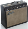Musical Instruments:Amplifiers, PA, & Effects, 1965 Fender Champ Blackface Guitar Amplifier, Serial Number#A06464....