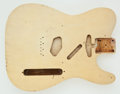 Musical Instruments:Electric Guitars, 1953 Fender Esquire Blonde Body, Serial Number #None...