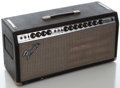 Musical Instruments:Amplifiers, PA, & Effects, 1970's Fender Bandmaster Reverb Silverface Amplifier Head, Serial Number #A832863....