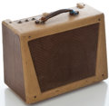 Musical Instruments:Amplifiers, PA, & Effects, 1950's Wilson 707-3 Tan Guitar Amplifier, Serial Number #None....