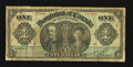 Canadian Currency: , DC-18b $1 1911.. ...
