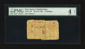 Colonial Notes:New Jersey, New Jersey April 16, 1764 15s PMG Good 4 Net.. ...