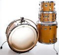 Musical Instruments:Drums & Percussion, 1970's Ludwig Maple Drum Set, Serial Number #2005929,.... (Total: 4Items)