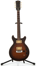 Musical Instruments:Electric Guitars, 1982 Epiphone Spirit Sunburst Solid Body Electric Guitar, SerialNumber #83412580....
