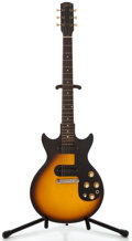 Musical Instruments:Electric Guitars, 1964 Gibson Melody Maker D Sunburst Solid Body Electric Guitar,Serial Number #205176....