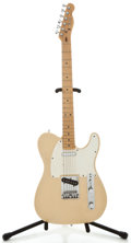 Musical Instruments:Electric Guitars, 1983 Fender Telecaster White Solid Body Electric Guitar, SerialNumber #E311350....