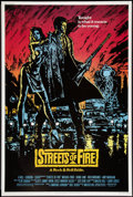 "Movie Posters:Action, Streets of Fire (Universal, 1984). Poster (40"" X 60""). Action.. ..."