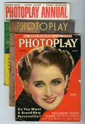 Memorabilia:Movie-Related, Photoplay Magazine Group (Macfadden Publications, 1919-57)....(Total: 12 Items)