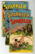 Golden Age (1938-1955):Miscellaneous, Sparkler Comics Group (United Features Syndicate, 1942-46).... (Total: 6 Comic Books)