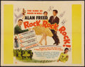 "Movie Posters:Rock and Roll, Rock, Rock, Rock (DCA, 1956). Half Sheet (22"" X 28""). Rock andRoll.. ..."