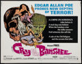 "Movie Posters:Horror, Cry of the Banshee (American International, 1970). Half Sheet (22"" X 28""). Horror.. ..."