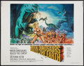 """Movie Posters:Fantasy, When Dinosaurs Ruled the Earth (Warner Brothers, 1970). Half Sheet(22"""" X 28""""). Fantasy.. ..."""