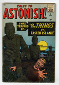 Silver Age (1956-1969):Horror, Tales to Astonish #5 (Marvel, 1959) Condition: GD/VG....