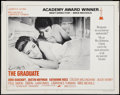 "Movie Posters:Comedy, The Graduate (Embassy, R-1972). Half Sheet (22"" X 28""). Academy Award Style. Comedy.. ..."