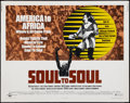 "Movie Posters:Rock and Roll, Soul to Soul (Cinerama Releasing, 1971). Half Sheet (22"" X 28""). Rock and Roll.. ..."