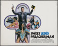 "Movie Posters:Blaxploitation, Sweet Jesus Preacher Man & Other Lot (MGM, 1973). Half Sheets(2) (22"" X 28""). Blaxploitation.. ... (Total: 2 Items)"