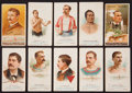 "Boxing Cards:General, 1880's N28 A&G ""World's Champions"" and N162 Goodwin ""Champions"" Group of (10). ..."