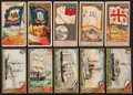 Non-Sport Cards:Lots, 1880's N6 City Flags, N11 US Flags and N226 Vessels Card Collection(25). ...