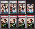 Football Cards:Lots, 1991 & 1992 Stadium Club Brett Farve Collection (8) - With Four Rookies!...