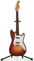 Musical Instruments:Electric Guitars, 1963 Fender Duo-Sonic Sunburst Solid Body Electric Guitar, Serial Number #95954....