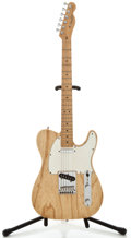 Musical Instruments:Electric Guitars, 2001 Fender Telecaster Natural Solid Body Electric Guitar, SerialNumber #Z0143090....