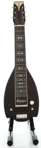Musical Instruments:Electric Guitars, 1940 Epiphone Electar Century Black Lap Steel Guitar, Serial Number#4368....