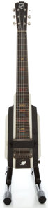 Musical Instruments:Lap Steel Guitars, 1940's National New Yorker Black/White Lap Steel Guitar,Serial Number #2071G....