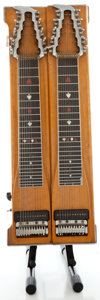 Musical Instruments:Lap Steel Guitars, Sho-Bud Double Ten Natural Pedal Steel Guitar, Serial Number #7262....