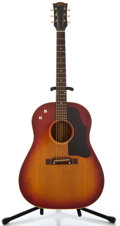 Musical Instruments:Acoustic Guitars, 1961 Gibson J-45 Cherryburst Acoustic Electric Guitar, SerialNumber #7816....