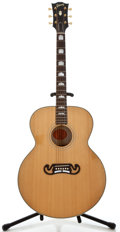 Musical Instruments:Acoustic Guitars, 2001 Gibson J-150 Natural Acoustic Electric Guitar, Serial Number#01091038....