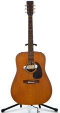 Musical Instruments:Acoustic Guitars, 1960's Val Dez Natural Acoustic Guitar, Serial Number#3-1012364....