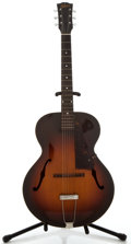 Musical Instruments:Acoustic Guitars, Circa 1946 Gibson L-48 Sunburst Archtop Acoustic Guitar, Serial Number #None....