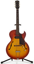 Musical Instruments:Electric Guitars, 1962 Gibson ES-125 TC Cherryburst Semi-Hollow Body Electric Guitar,Serial Number #49910....
