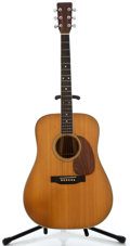Musical Instruments:Acoustic Guitars, 1971 Martin D-35 Natural Acoustic Guitar, Serial Number#2084330....