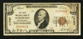 National Bank Notes:Pennsylvania, Bakerton, PA - $10 1929 Ty. 1 The First NB Ch. # 11757. ...