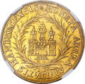 German States:Hamburg, German States: Hamburg. Free City gold 2 Ducats ND (1672-92)-HL,...