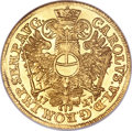German States:Hamburg, German States: Hamburg. Free City gold 2 Ducats 1727-IHL,...