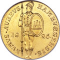 German States:Hamburg, German States: Hamburg. Free City gold Ducat 1826,...