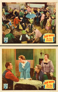"""Movie Posters:Western, The New Frontier (Republic, 1935). Lobby Cards (2) (11"""" X 14"""").. ... (Total: 2 Items)"""