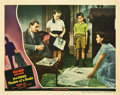 "Movie Posters:Hitchcock, Shadow of a Doubt (Universal, 1943). Lobby Card (11"" X 14"").. ..."