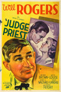 """Movie Posters:Comedy, Judge Priest (Fox, 1934). One Sheet (27"""" X 41"""") Style B.. ..."""