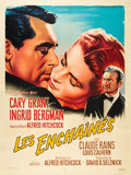 """Movie Posters:Hitchcock, Notorious (MGM, R-1958). French Grande (47"""" X 63"""").. ..."""